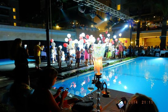 Alva Donna Beach Resort Comfort: gala night