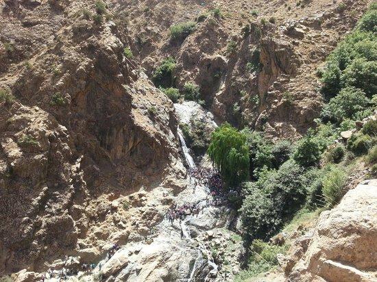 Setti Fatma et les 7 Cascades: Le prime cascate