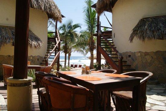 Punta Placer Bungalows: Restaurante