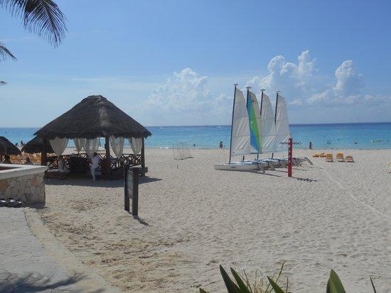 Iberostar Quetzal Playacar: La plage