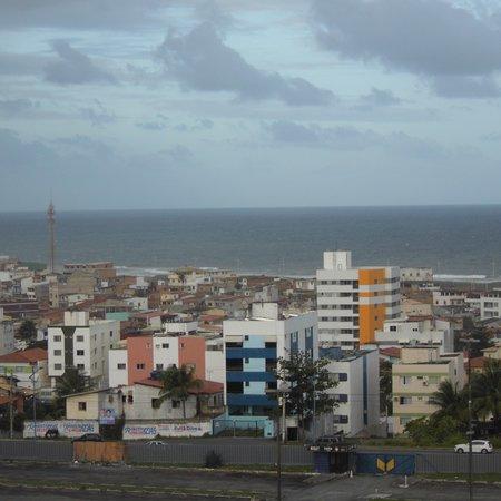 Faro Inn Hotel Salvador : vista do hotel lado quarto localizado no 9 andar