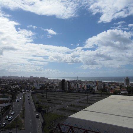 Faro Inn Hotel Salvador : vista do quarta localizado no 9 andar