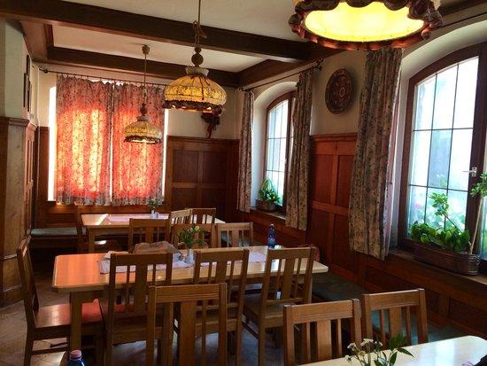 Hotel Gasthof Zur Linde: 1階レストラン