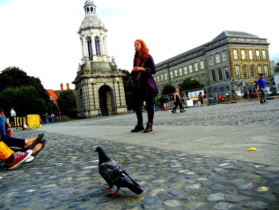 SANDEMANs NEW Europe - Dublin: Lisa at Trinity College