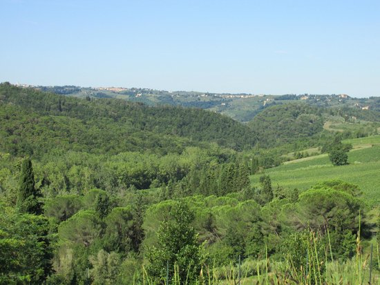 500 Touring Club: Chianti country