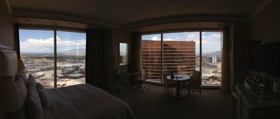Wynn Las Vegas: Panaramic of the Room