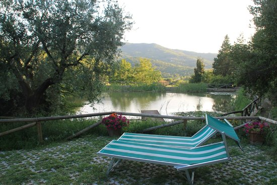 Villa Cilnia: The lake