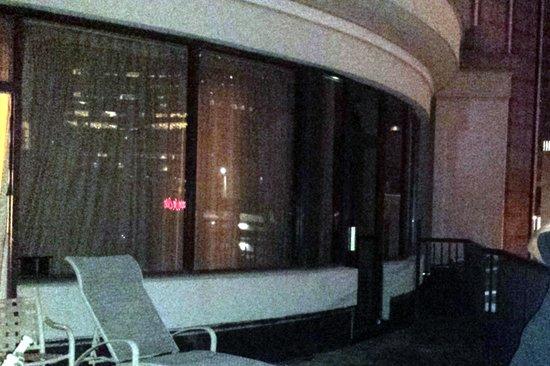 DoubleTree by Hilton Hotel Atlanta Downtown : Balcony room 902