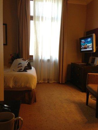 Hilton Moscow Leningradskaya: номер окно