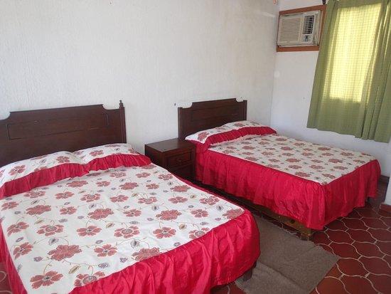 Posada Mora : Habitación doble, ideal para familias