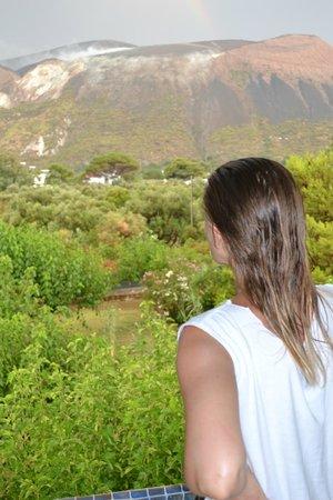 Eden Park Selfotel - Parco Vacanze: il vulcano dalla mia camera