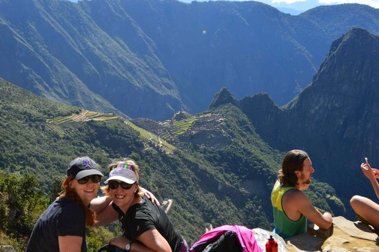 Machu Picchu: Rewarding view at the end of the journey