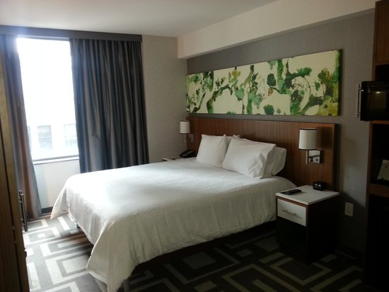 Hilton Garden Inn New York/Central Park South-Midtown West : King-size bedroom