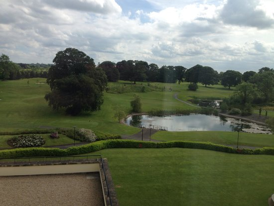 Knightsbrook Hotel & Golf Resort: View from our room