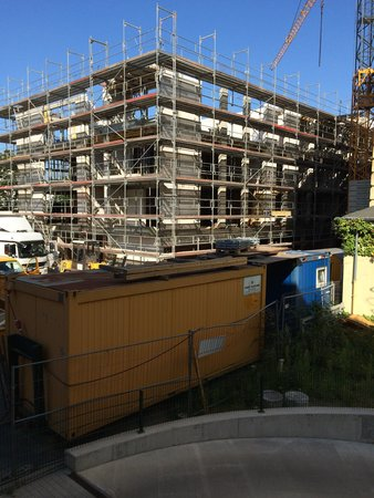 B&B Hotel Bremen-Hbf : Blick aus dem Zimmer