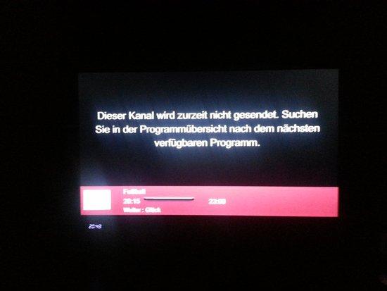 BEST WESTERN Amedia Wels: Fernsehen Fehlanzeige