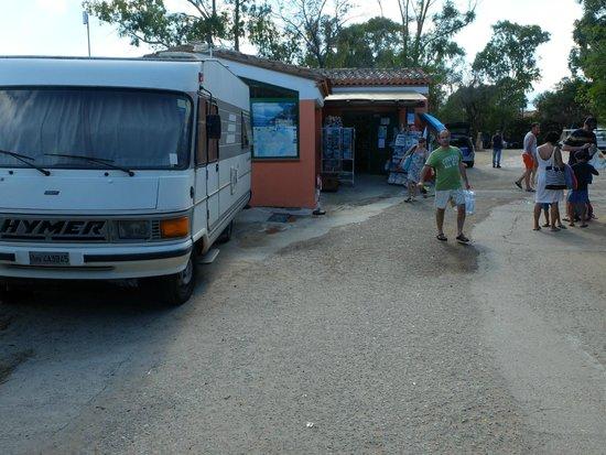 Camping Telis: l'épicerie
