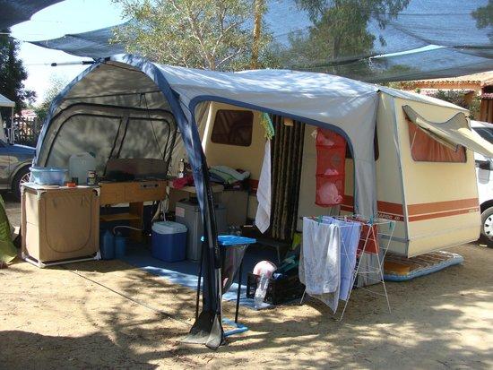 Camping Telis: notre caravane pliante