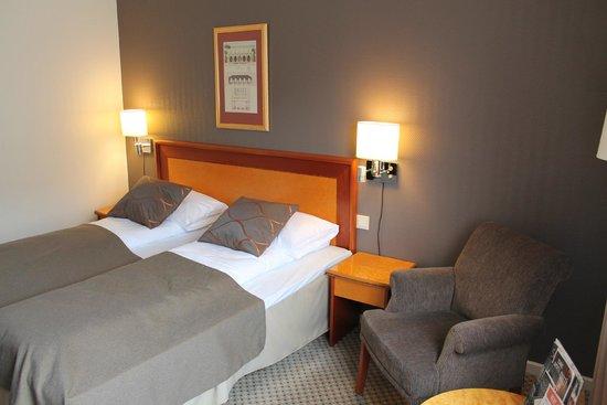 Scandic Bergen City: vista de la cama