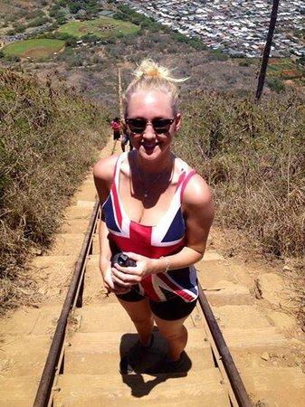 Koko Crater Railway Trail: Struggle bussin'