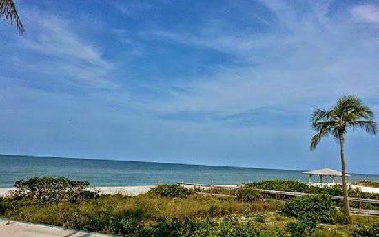 Sunset Beach Inn: View from front door