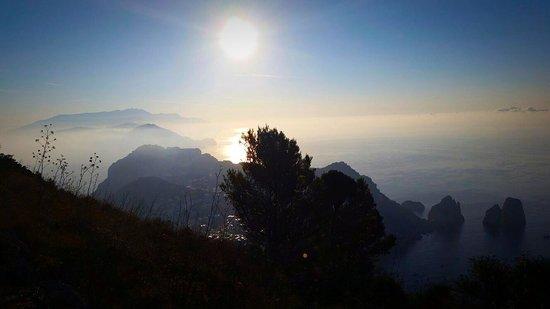 Mount Solaro : Monte Solaro all'alba