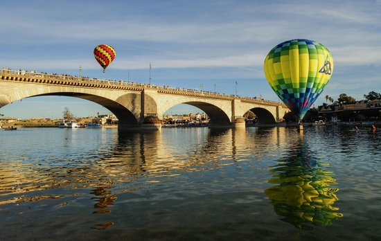 London Bridge Resort: Lake Havasu City Balloon Fest 1