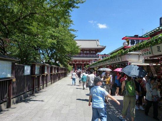 Asakusa shopping street