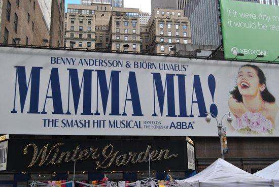 Mamma Mia! on Broadway: Mamma Mia - Winter Garden Theatre