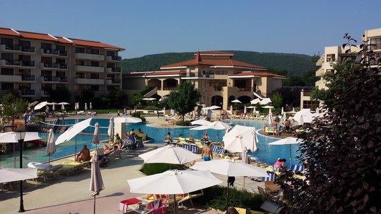 Club Hotel Miramar: Widok z okna