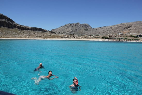 Mitsis Lindos Memories Resort & Spa : Vista al largo