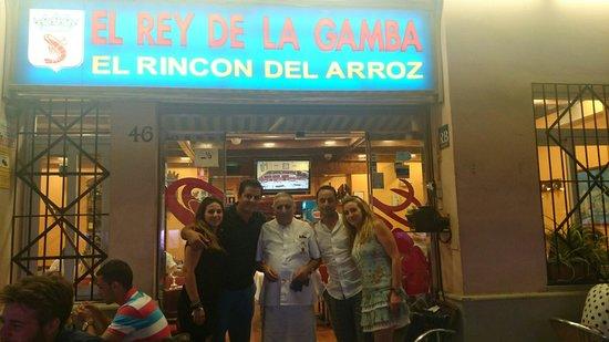 El Rey de la Gamba-2: Le proprio ;-)