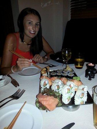 Premier Le Reve Hotel & Spa (Adults Only): Sushi A La Carte