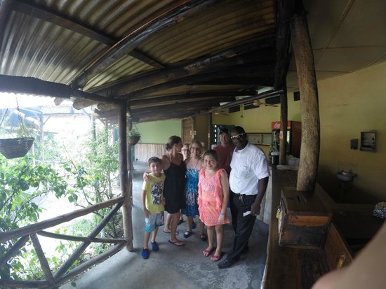 Courtney Taylor  Tours Jamaica: Our Guide showing the local eats at Scotchies