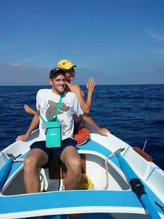 Il Carugio: L'avventura in barca!!!
