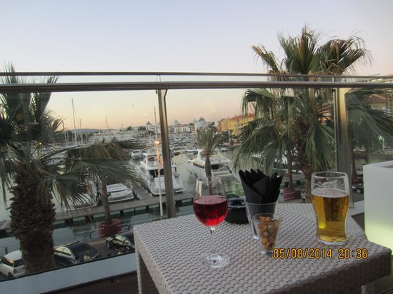 "Tivoli Marina Vilamoura: View from the ""Side Bar"""