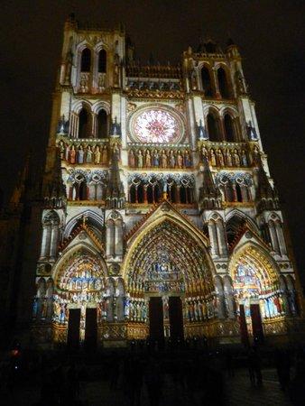 Cathédrale Notre-Dame d'Amiens : Ilumintions de la Cathedrale d'Amiens
