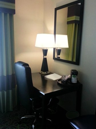 Hampton Inn & Suites Sandusky / Milan: work area in room 314
