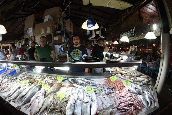 Calis Beach: Fish Monger