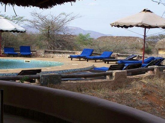 Samburu Sopa Lodge : Pool