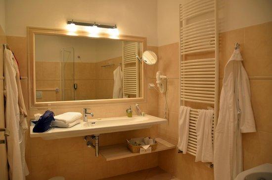 Unitas Hotel: Bagno