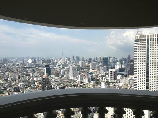 lebua at State Tower: View from room