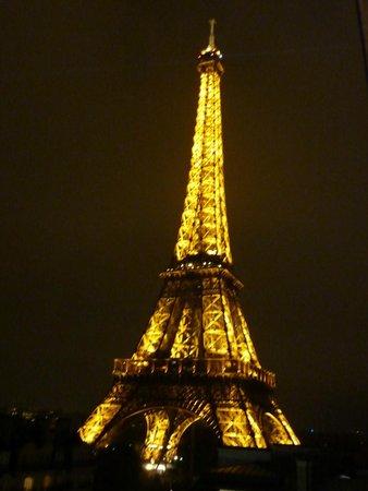 Pullman Paris Tour Eiffel: View from our friends room!