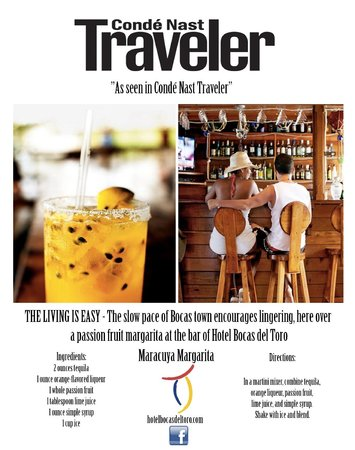 Hotel Bocas del Toro: Conde Nast Traveler Magazine