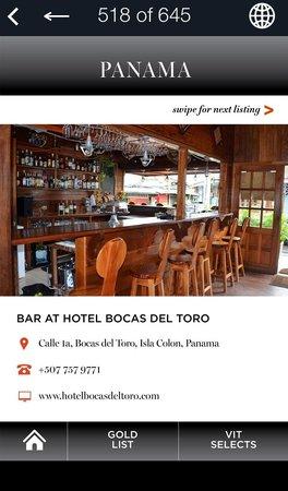 Hotel Bocas del Toro Bar