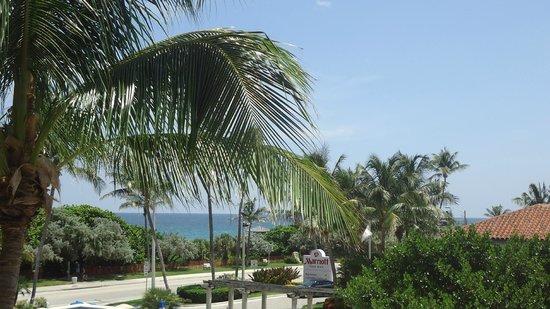 Delray Beach Marriott: Looking towards the Oceal