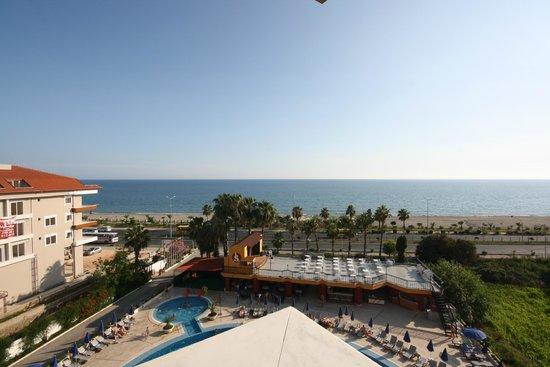 Hotel Sunshine: widok z balkonu