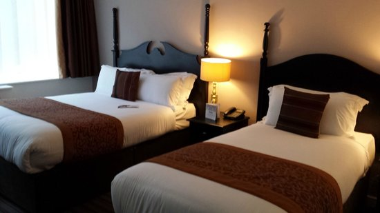 Ballsbridge Hotel: Beds