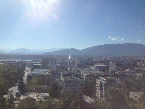 Hotel InterContinental Geneve: The view