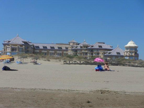 Hotel Melia Atlantico Isla Canela: magnifique plage peu fréquentée